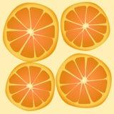 Texture orange Stock Image