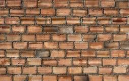 Texture of orange brick wall Stock Image