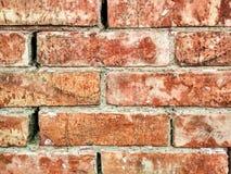 Texture of orange bricks Stock Photo