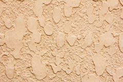 Texture of orange concrete wall Stock Photography