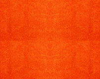 Texture of a orange cotton towel Royalty Free Stock Photos
