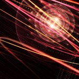 Texture orange créative de sphère Photographie stock libre de droits