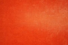 Texture orange de jeans Image stock
