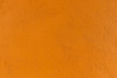 Texture orange de mur Photos libres de droits