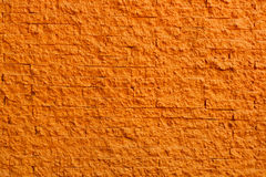Texture orange de mur de briques Photo stock