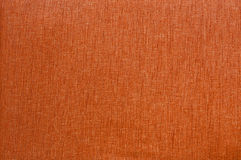 Texture orange de tissu. Images stock