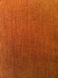 Texture orange de tissu Photo stock