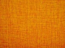 Texture orange de tissu de couleur Photo libre de droits