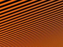 Texture orange de tubes Photos stock