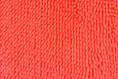 Texture of orange doormat Royalty Free Stock Photography
