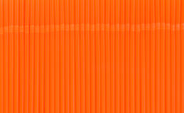 Texture of orange drink straws Stock Image