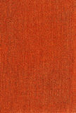 Texture of orange fabric Stock Image