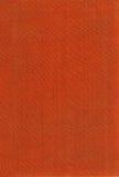 Texture of orange fabric. Close up Stock Image