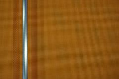 Texture of orange fabric with stainless tube Stock Photo