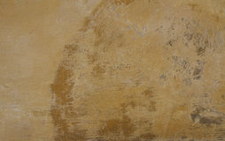 Texture of a orange painted weathered wall Royalty Free Stock Image