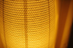 Texture Orange table lamp background for textile Royalty Free Stock Image