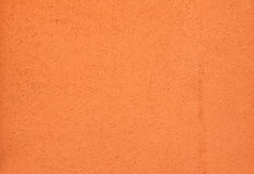 Texture of orange wall plastered Royalty Free Stock Photo
