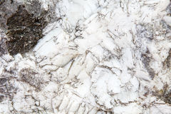 Texture of ordinary limestone with calcite Royalty Free Stock Image