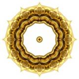 Texture orientale d'ornement d'or Photo stock