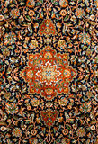 Texture orientale de tapis de Perse Photo stock