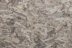 Texture of oriented strand board for background decoration.  stock photos