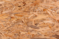 Texture of oriented strand board, OSB Stock Images