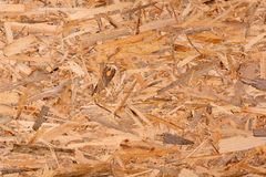 Texture of oriented strand board, OSB Stock Image