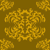 Texture with ornaments Stock Images