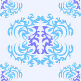 Texture with ornaments Royalty Free Stock Photo