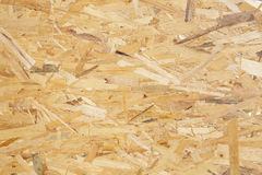 Texture of an osb board Stock Photography