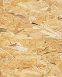 Texture of an osb board Stock Photos