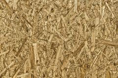 Texture OSB panels. The texture of the surface of the OSB panel as a background stock image