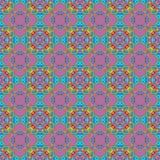 Texture ou fond colorée abstraite sans couture avec le modèle Images stock