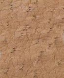 Texture ou fond de cuir de Brown Images stock