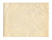 Texture ou fond de papier de brun de style de vintage vieille, avec les bords déchirés inégaux image stock