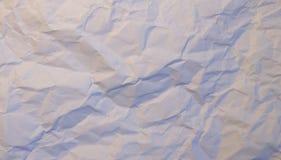Texture ou fond de papier froissée photo libre de droits