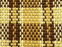 Texture ou fond en bambou d'armure Photos stock