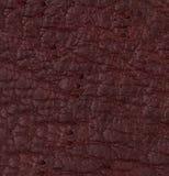 Texture ou fond en cuir pourpre Image stock