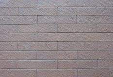 Texture ou fond rouge-clair de brique Photo stock