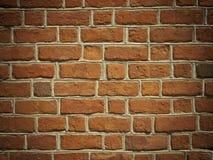 Texture ou fond rouge de mur de briques Image stock