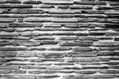 Texture of a outdoor stone wall. Royalty Free Stock Photo