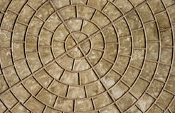 Texture of outdoors tile Stock Photography