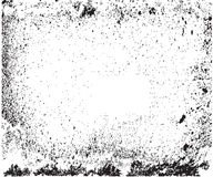 Texture Overlay For Your Design. Black and white grunge backgrou Stock Images