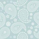 Texture pâle sans joint de Paisley Photos libres de droits