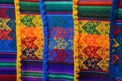 texture péruvienne fabriquée à la main Image libre de droits