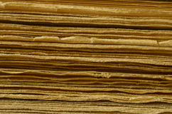 Texture of pages, old books, vintage touch Royalty Free Stock Images