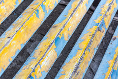 Texture paint on steel Royalty Free Stock Images