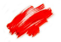 Texture paint on white background. Selective focus. royalty free stock photos