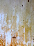 Texture painted aluminium. Rusted grunge old painted aluminium texture Stock Images