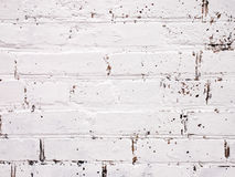 Texture. Painted brick white oil Royalty Free Stock Photography
